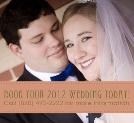 Book Your 2014 Wedding